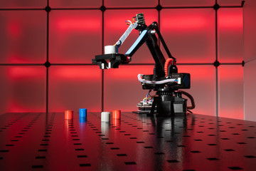 Model industrial robot arm industrial manipulator for making production