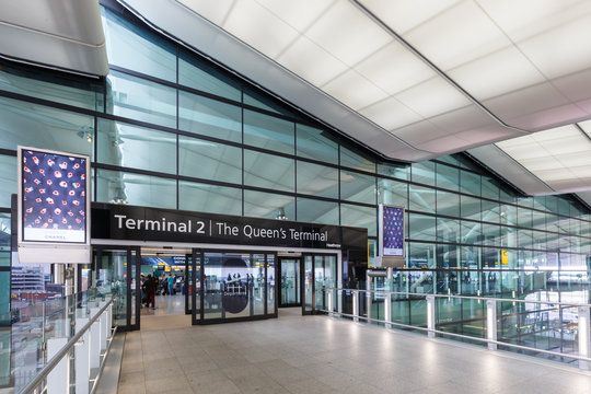 London Heathrow Airport LHR Terminal 2