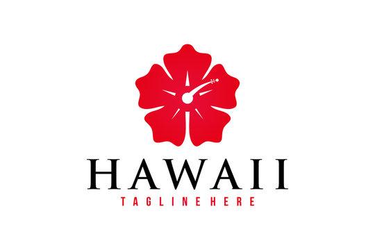 hawaii logo icon vector isolated
