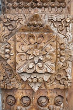 Balinese wood craft