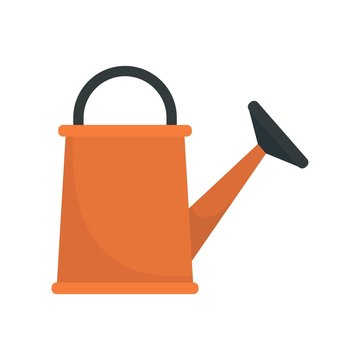 Watering can icon. Flat illustration of watering can vector icon for web design