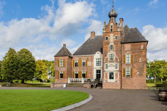 Medieval castle Cannenburch in Vaassen, Gelderland in the Netherlands