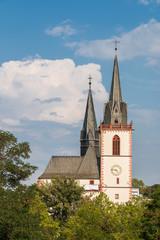 Blick zur Basilika