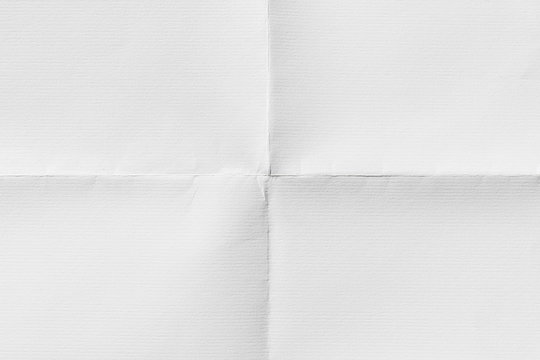 Paper folded in four, texture background