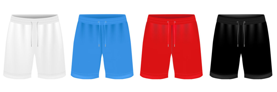 Sport Shorts Design Template Set