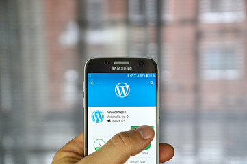 Wordpress mobile application