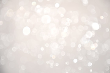 Abstract bokeh lights with soft light background. Blur wall.