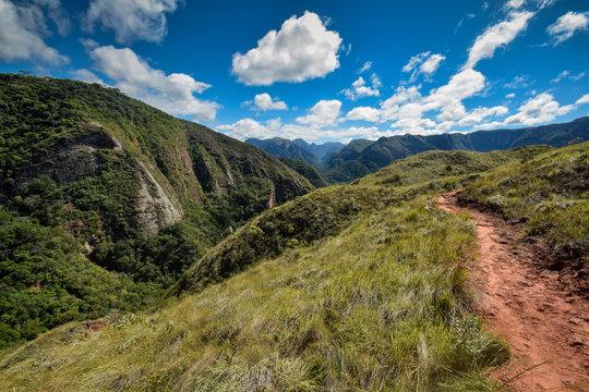Landscape near Samaipata in Bolivia