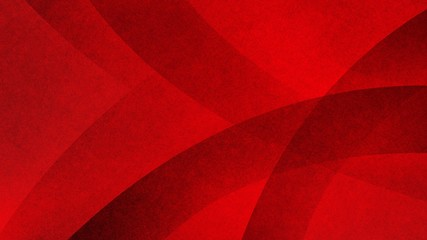 Red and black abstract background with angled curves and striped lines or ribbon shapes layered in abstract modern art style background pattern, textured background
