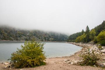 Lac Blanc im Elksass, Frankreich