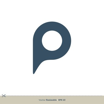 P Letter Logo Template Illustration Design. Vector EPS 10.