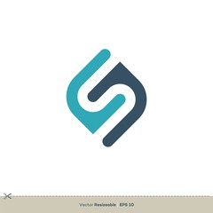S Letter Logo Template Illustration Design. Vector EPS 10.