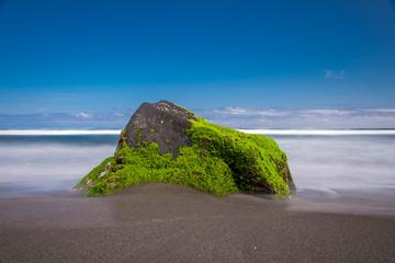 Beach with a Stone