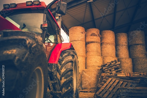 Wall mural Agriculture Heavy Equipment
