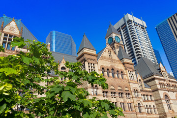 Old Toronto City Hall at Nathan Phillips Square, the building used as a court house for the Ontario Court of Justice