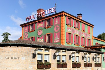 Restaurant Paul Bocuse on October 20, 2016 in Lyon, France