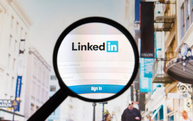 Linkedin - social networking site.