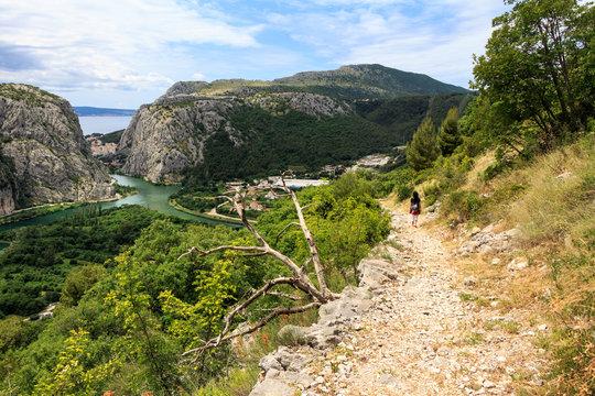 Wanderung oberhalb des Cetina-Canyon