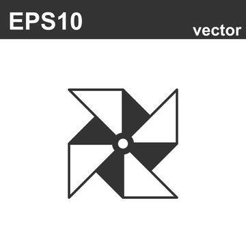 design of Pinwheel icon