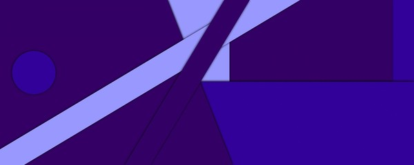 Background in material design. Format 4:1. Excellent substrate for banners. Unique geometric design. Deep shadow. The effect of an application.