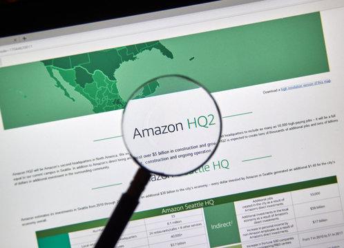 Amazon HQ2 description