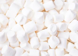 White fluffy sweet marshmallow textured pattern background