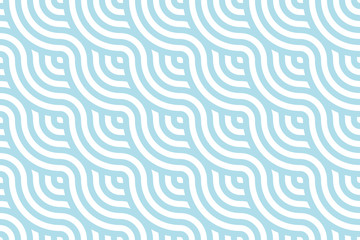 Blue ocean wave Background pattern seamless tiles. Use for design.