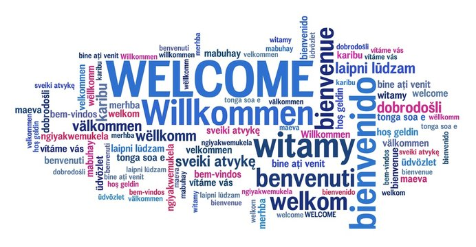Welcome international languages