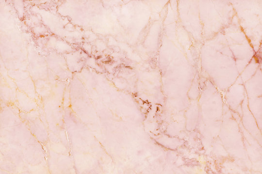 Rose gold marble texture background with high resolution, top view of natural tiles stone floor in luxury seamless glitter pattern for interior and exterior decoration.