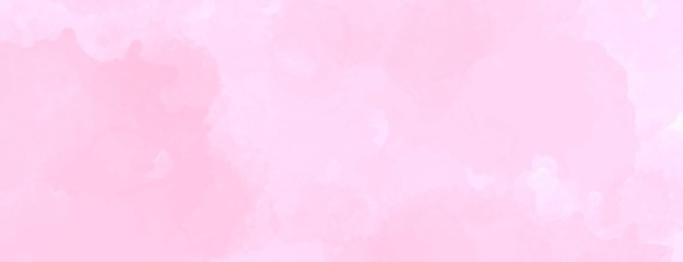 Light pink watercolor background hand-drawn