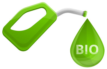 Biofuel concept cartoon. Illustration of biofuel vector concept for any web design