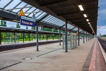 Railway Station Potsdam Hbf in Potsdam, Germany
