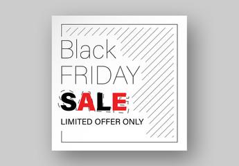Black Friday Sale Card Layout
