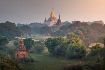 Ananda Temple at Sunrise, Bagan, Myanmar