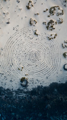 Mystic spiral in the landscape