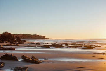 Landscape images in Broome Beaches at dusk