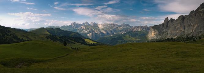Dolomites mountain ranges.