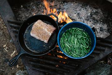 Cooking Camp Food