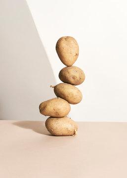 Potatoes still life