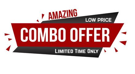 Amazing combo offer banner design