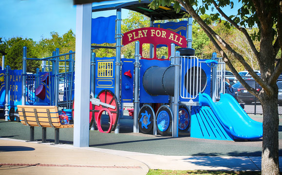 Play for all kids park in Round Rock, Texas for all abilities.