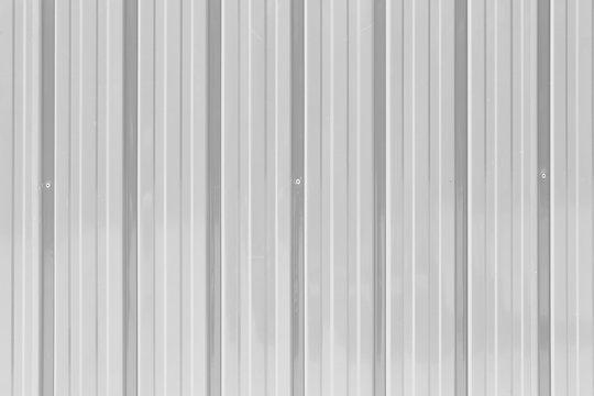 White zinc wall texture background.