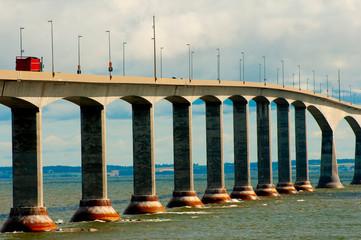 Confederation Bridge - Northumberland Strait - Canada