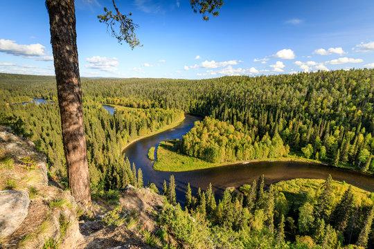 Paahkanakallio, Oulanka National Park, Kuusamo, Finland