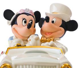 Disney wedding cake topper by Lenox
