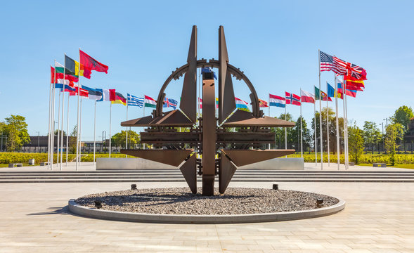 NATO Monument in Brussels