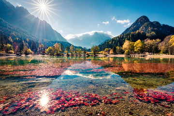 Fototapeta Cudowny krajobraz Parku Narodowego Triglav obraz