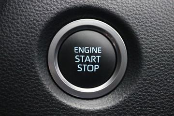 Papiers peints Macarons Car engine start stop button