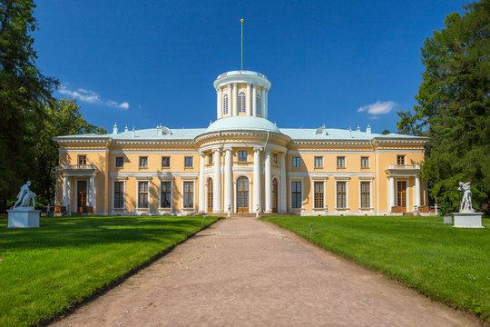 Museum-Estate Arkhangelskoye in Moscow region, Russia