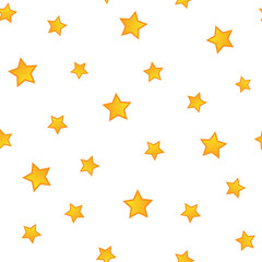 Golden stars pattern